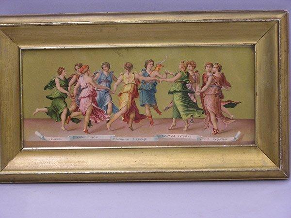 4008: Victorian NeoClassical print, Apollo