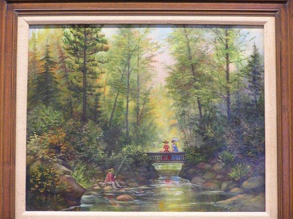 4012: Lydia Vercinsky, Fishing Party