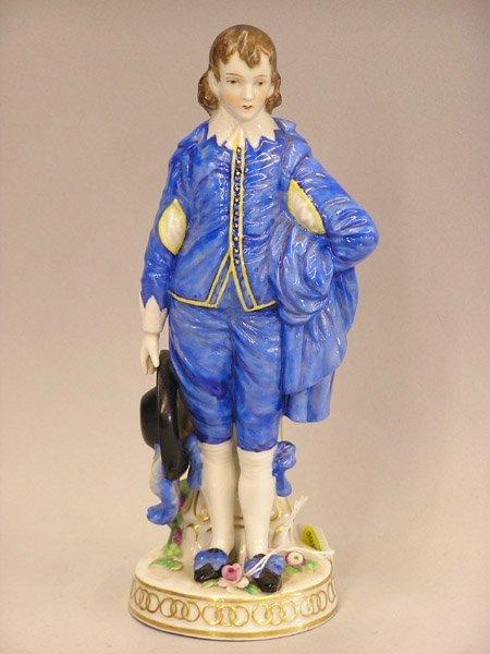 """4015: Porcelain figure, """"Blue Boy"""""""