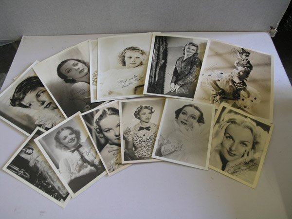 4387: Hollywood Autographed Photos