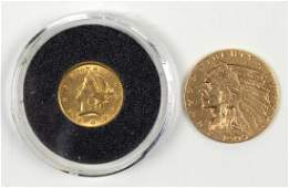 Two US gold coins