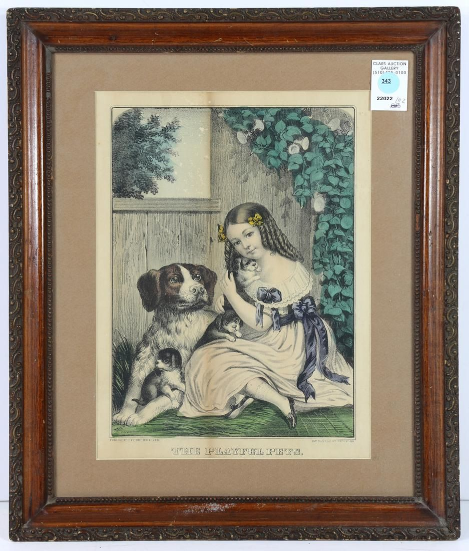 Print, Currier & Ives