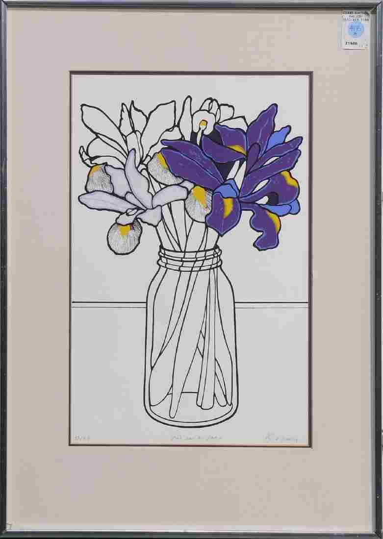 Print, Iris in a Jar