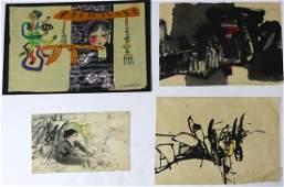 Bui Ngoc Tu and Vietnamese School watercolors,