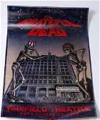 Concert Poster Bill Graham Presents The Grateful Dead