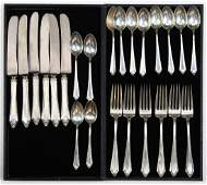 Towle sterling silver partial flatware service