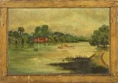Painting, Continental School, 19th century