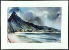 Watercolor Henry Doane