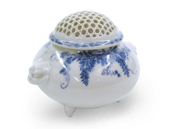 4005: Japanese Hirado Porcelain Censer, Meiji