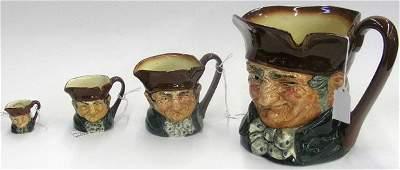 4113: Royal Doulton character mugs Toby