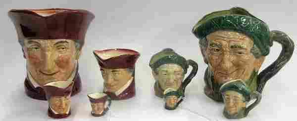 Royal Doulton character mugs Toby