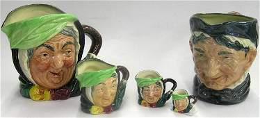 4117: Royal Doulton character mugs Toby