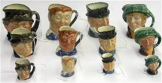 4119: Royal Doulton character mugs Toby