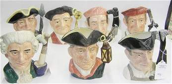 4136: Royal Doulton character mugs Toby