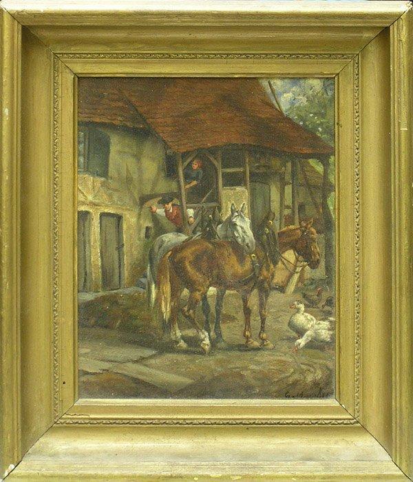 6000: Painting, European, animal