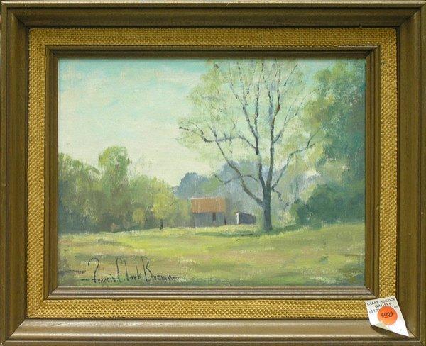 6006: Paintings, Francis Brown, American