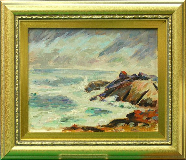 6010: Painting, Dominique, Californian