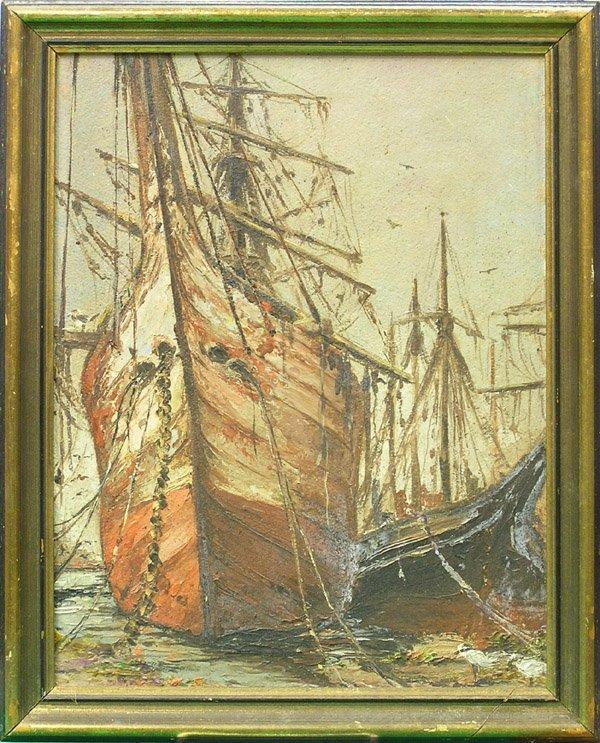 6012: Painting, William Yelland, Californian