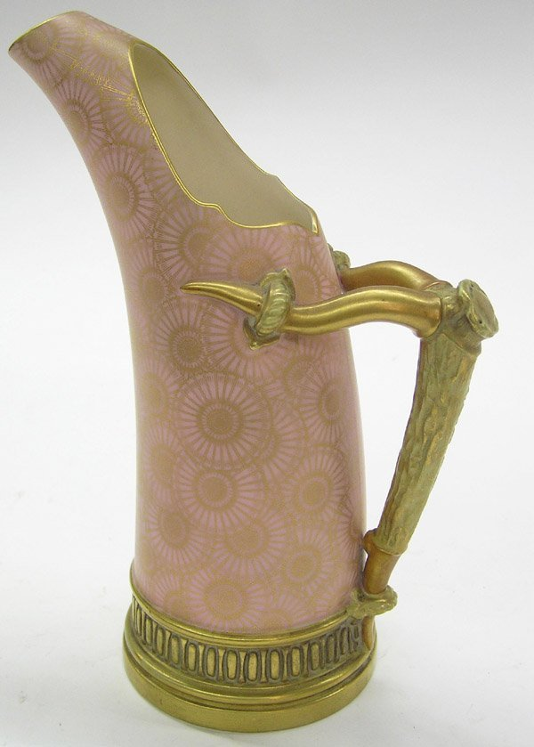6020: Royal Worcester porcelain pitcher