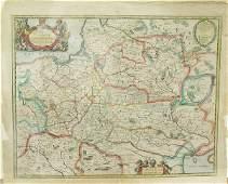 6399 Antique map Poland Morden