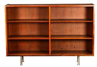 Danish Modern rosewood bookcase by Poul Hundevad for