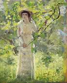 Painting, Attributed to Edward Dufner