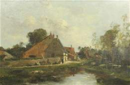 Painting, French  School