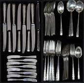 Towle sterling silver flatware service for eight in the