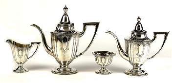 Chinese export sterling silver drinks service