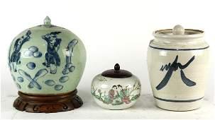 Chinese Porcelain Jars