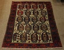 Antique Persian Afshar carpet 39 x 53