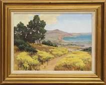 Painting, , Path Through Coastal Wildflower