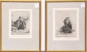 Prints, After Rembrandt van Rijn