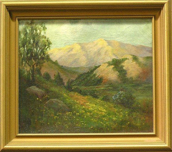 2: Mountain Landscape mann cohen painting