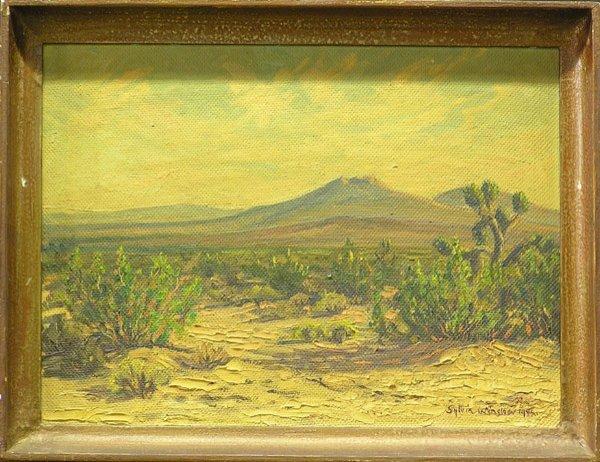 3: Sylvia Winslow Desert painting