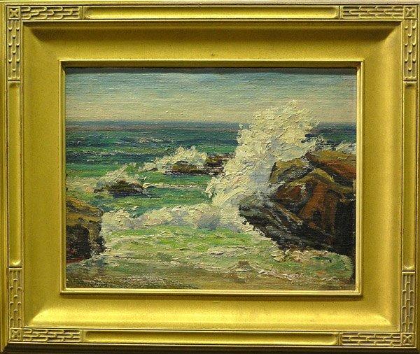 4: Amy Brown Coastal Scene painting