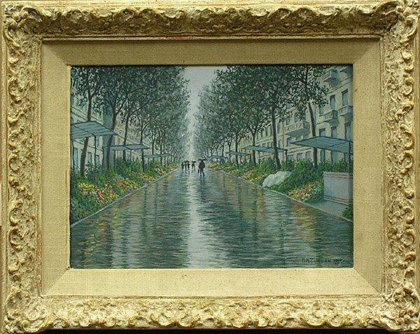 7: Painting, Zuanich, Californian, Paris