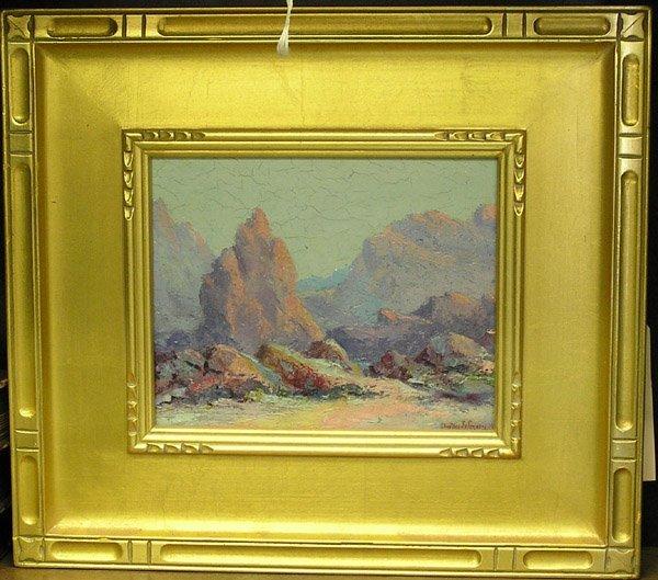 10: oil paintings Clinton Johnson
