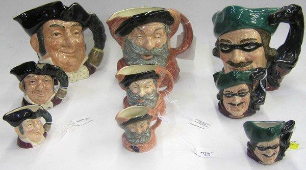 11: Royal Doulton character mugs Toby
