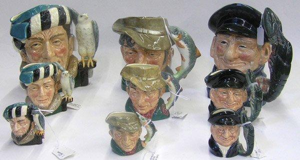 13: Royal Doulton character mugs Toby