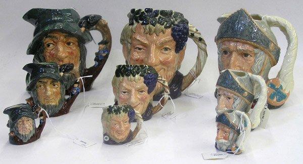 14: Royal Doulton character mugs Toby