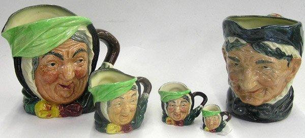 15: Royal Doulton character mugs Toby