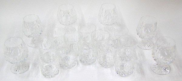 2080: Waterford cut crystal brandy tumblers - 2