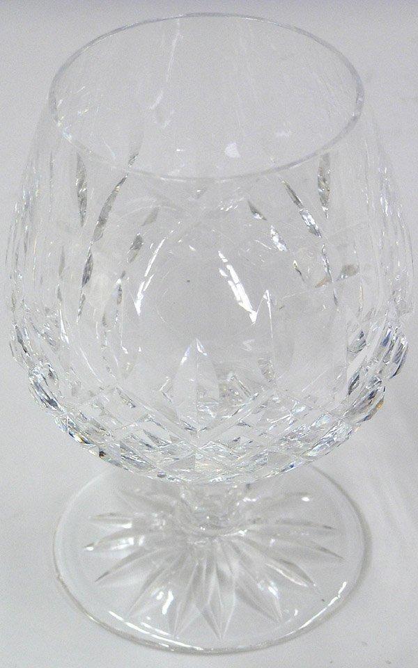 2080: Waterford cut crystal brandy tumblers - 4