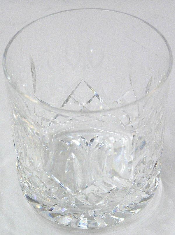 2080: Waterford cut crystal brandy tumblers - 5