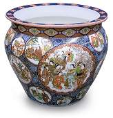 2445 Japanese Massive Imari Fishbowl Meiji