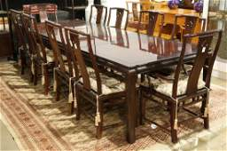 Dining Table Together with Chairs