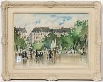 Watercolors, Guy de Neyrac
