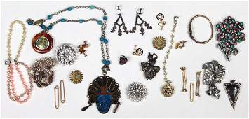 Collection of multi-stone, metal and gold-filled