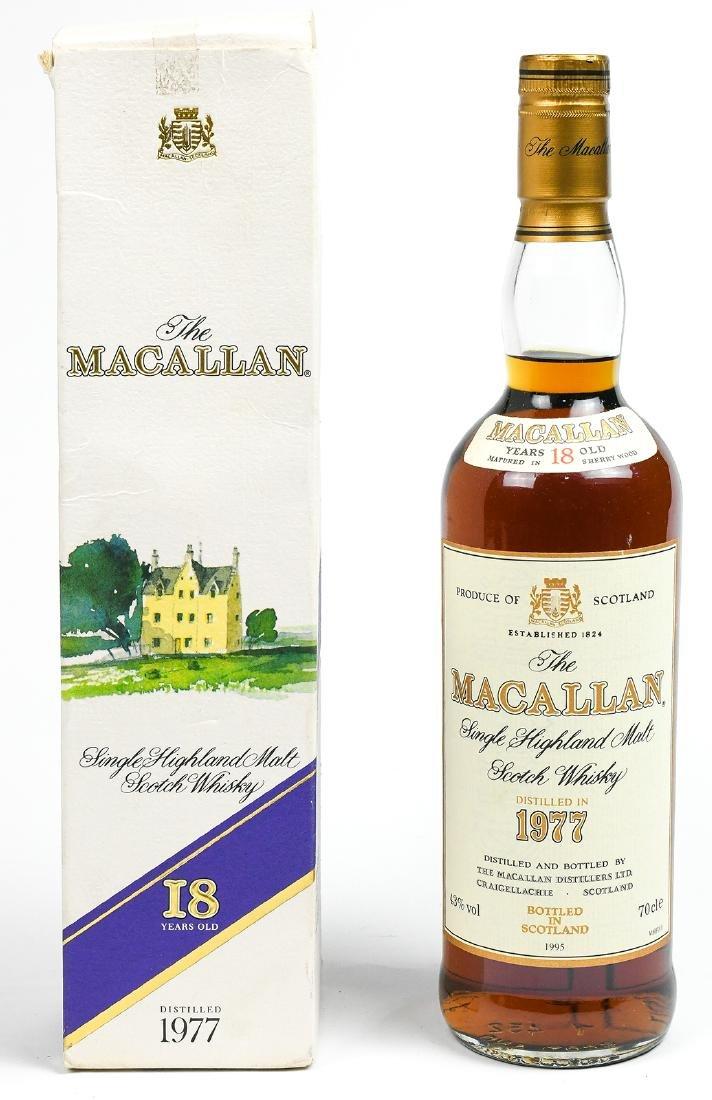1995 Macallan Single Highland Malt Scotch Whisky,